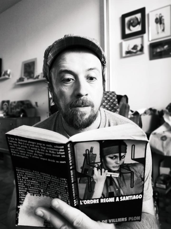Fernando Sanchez : le libraire àvélo